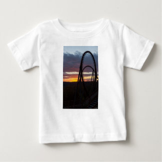Sunset Over Wildfire Baby T-Shirt