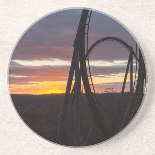 Sunset Over Wildfire Coaster