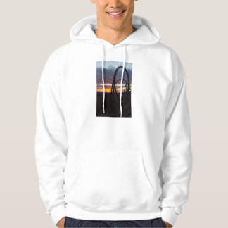 Sunset Over Wildfire Hoodie