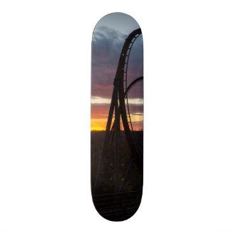 Sunset Over Wildfire Skateboard
