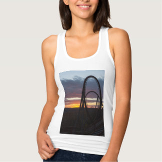 Sunset Over Wildfire Tank Top