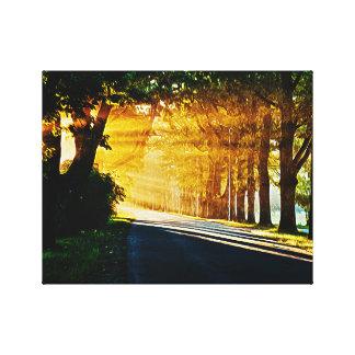 Sunset Painting Canvas Print