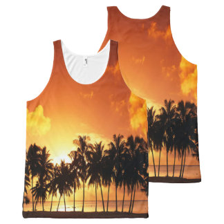 Sunset Palm Shirt
