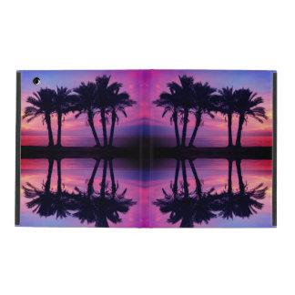 Sunset Palm Trees ipad Case