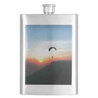 Sunset Paraglide Hip Flask