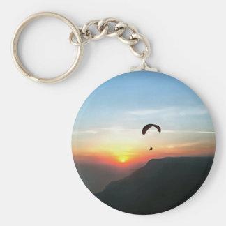 Sunset Paraglide Keychain