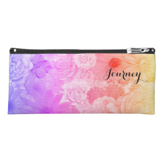 Sunset Pastel Floral Flowers Boho Journey Pencil Case