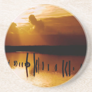 Sunset Peace And Harmony Drink Coaster