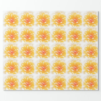 Sunset Peony Wrapping Paper