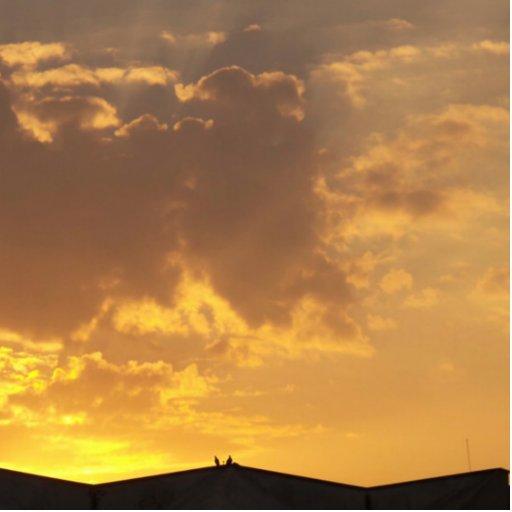 Sunset Photo Cutout