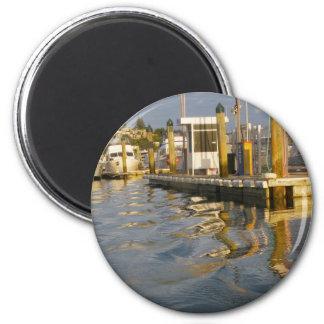 Sunset Pier Magnet