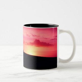 Sunset pink mug