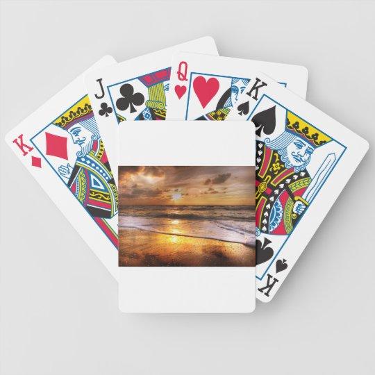 Sunset Poker Deck