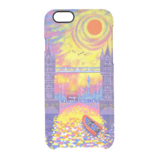 Sunset:Pool Of London 2013 Clear iPhone 6/6S Case