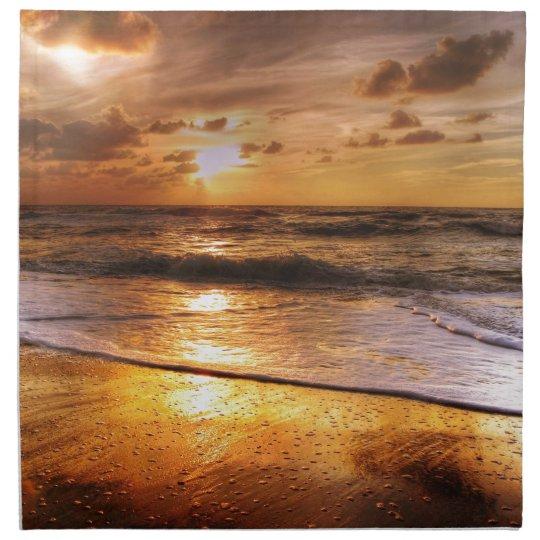 Sunset Printed Napkin