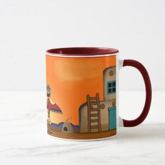 Sunset Pueblo Mug
