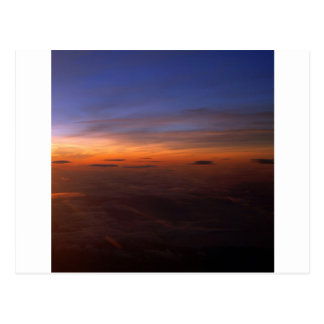 Sunset Purple Atmosphere Postcard