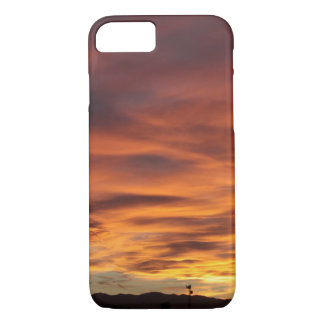 Sunset Radio Tower iPhone 7 Case