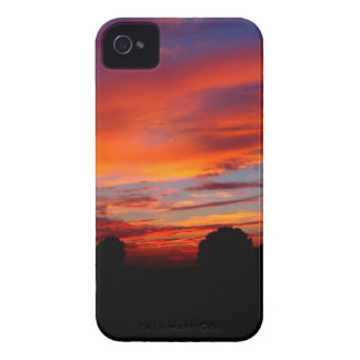 Sunset Red Humour Case-Mate iPhone 4 Case