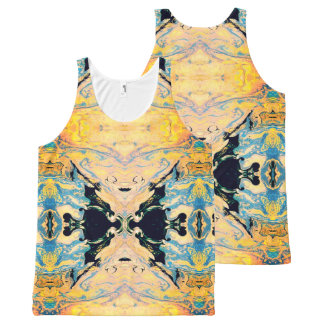 Sunset Reflections All-Over-Print Tank Top