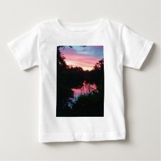 Sunset Reflections Before the Storm Baby T-Shirt
