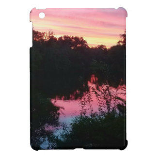 Sunset Reflections Before the Storm iPad Mini Cover