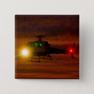 Sunset Rescue 2 Inch Square Button