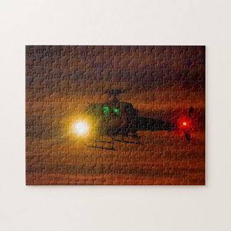 Sunset Rescue Jigsaw Puzzle