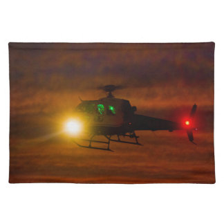 Sunset Rescue Placemat