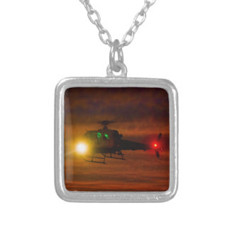 Sunset Rescue Silver Plated Necklace