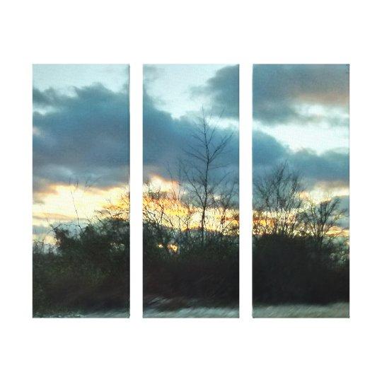 Sunset Ride #1 Canvas Print