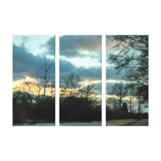 Sunset Ride # 2 Canvas Print
