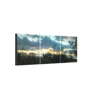 Sunset Ride # 3 Canvas Print