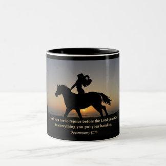 Sunset Ride Coffee Mug or Cup