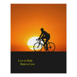 Sunset ride poster