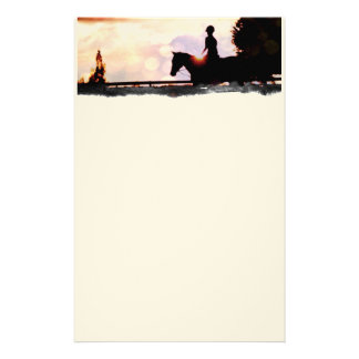 Sunset Ride Stationery
