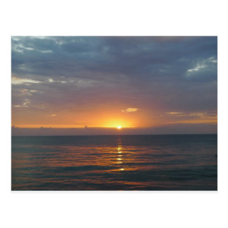 Sunset, Rincon, Puerto Rico Postcard