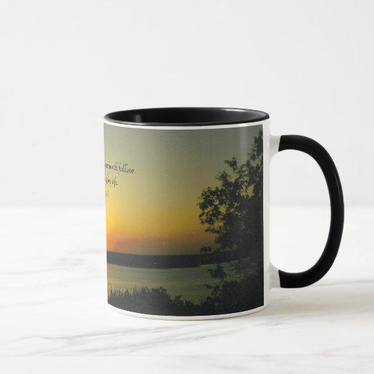 Sunset Ringer Mug