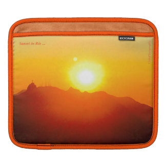 Sunset Rio iPad Sleeve