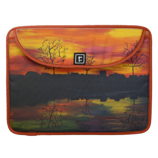 Sunset RK more river Sleeve For MacBook Pro