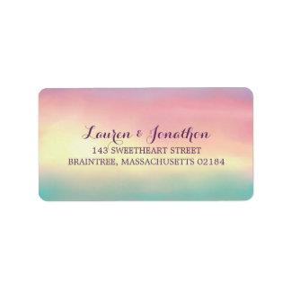Sunset Romance | Mailing Address Label