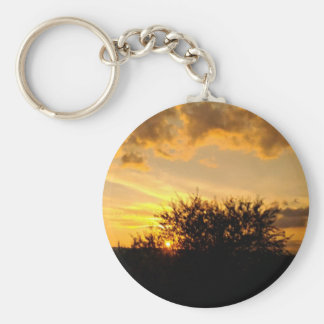 Sunset - S. Stefano di Campobasso Keychain