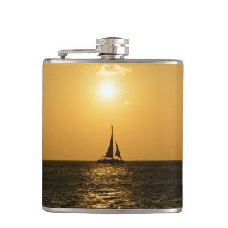 Sunset Sail Flask