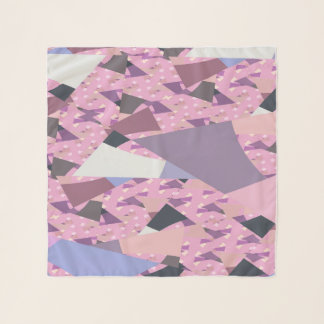 SUNSET SAILS ABSTRACT SCARF