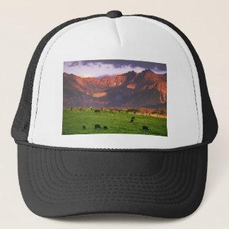 Sunset San Juan Mts CO Trucker Hat