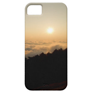 Sunset scene in a China Huang mountain Case For The iPhone 5