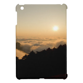 Sunset scene in a China Huang mountain Cover For The iPad Mini