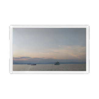 Sunset Sea Boats Custom Small Vanity Tray
