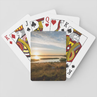 Sunset Sea Playing Cards