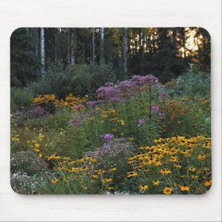 Sunset September Gardens Mouse Pad